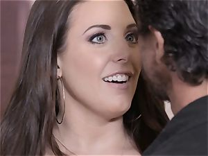blasted Sn 4 Angela white bangs her client