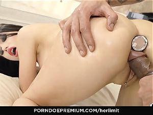 HER confine - raunchy assfuck and face poke with Sasha Rose