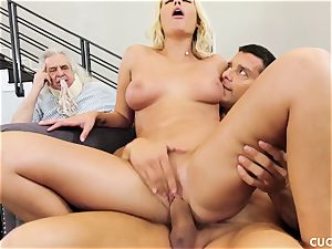 Athena Palomino - My lazy husband should observe how real fellows act