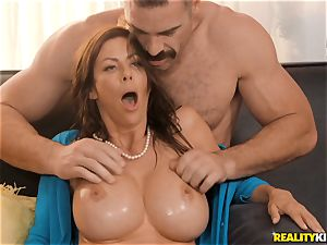 pecker wedging Alexis Fawx