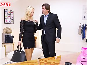 LETSDOEIT - Tailor Seduced And pummels young client