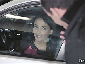 Anissa Kate nailing the chief in the car park