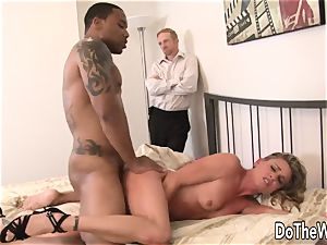 milky stud sees wifey smashed by black guy
