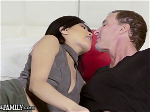 chinese daughter ravages Mom's man 1 Last Time!