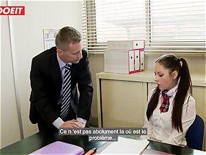 LETSDOEIT - Rebecca Tricks Academy Principal Into hump