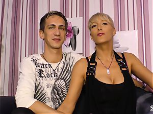 SexTapeGermany - German sex gauze with blondie milf