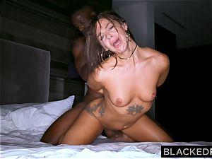 BLACKEDRAW youthful wifey is now addicted to black bulls