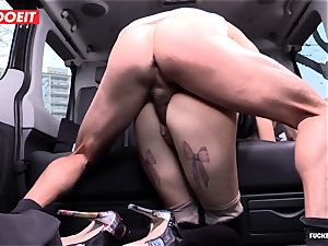 taxi Driver blows a load a few Times In uber-sexy Czech vagina