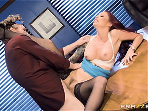 wild office antics with Monique Alexander
