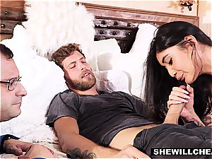 SheWillCheat - super hot wife Brenna Sparks pound dude fucktoy