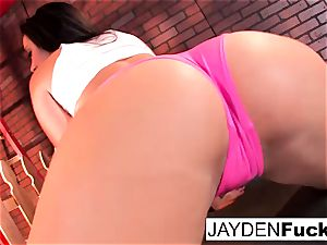 stellar Jayden Jaymes Plays With Her phat melons