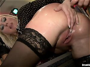 Bibi Fox and lusty gals laid with hunk's 3rd leg