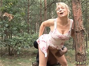 huge-chested german stepmom ebony man rod penetrated