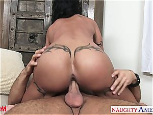 excellent mommy love buttons Jade pummeling a mind-blowing fellow