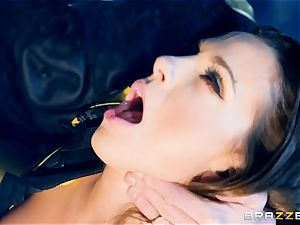 Abigail Mac beaver plunged by Danny D