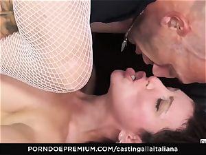 audition ALLA ITALIANA - novice assfuck gape and plumb