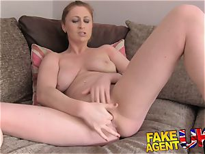 FakeAgentUK finger poking bootie munching and jizz drenched