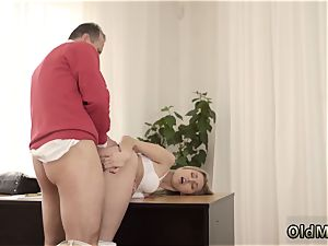 elderly fuck female and boy youthfull doll Stranger in a meaty building knows how to