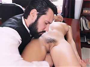 asian babe Marica Hase craves it up the ass-hole