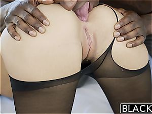 BLACKED 18yr older Jillian Janson has assfuck fuck-a-thon with bbc