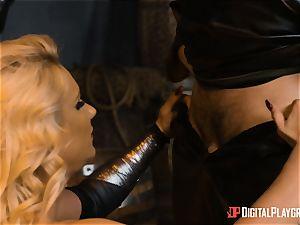 Heroine Phoenix Marie beaten by dangled inmortal god