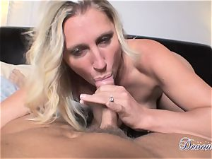 Devon Lee is liking her man's whip rammed in her delicious hatch