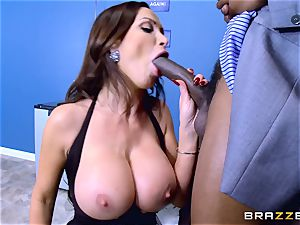Elections and hefty ebony penis erections for Nikki Benz