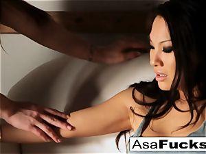 Dani Daniels grasps Asa Akira then romps her