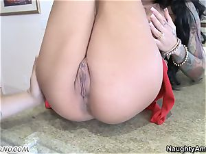 passionate biotch Angelina Valentine with enormous tits loves hard-core