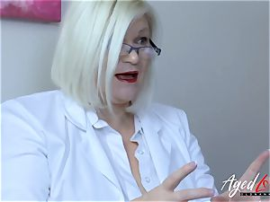 AgedLovE Lacey Starr buxomy ash-blonde Mature hard-core