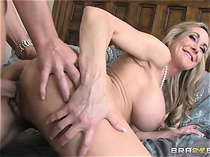 Brandi love instructs her stepson a lesson