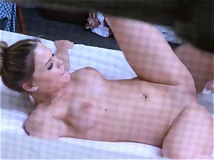 Brianna brown caught on spy webcam as she porks