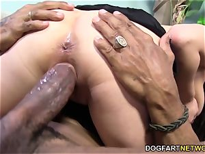 Mia Rider takes big black cock in her donk - cuckold Sessions