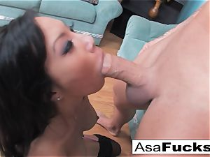 Asa Gets pummeled stiff