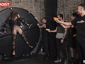 brit honey Tina Kay Gets servant