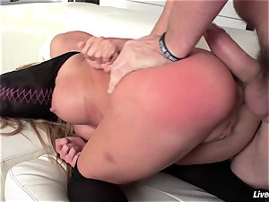 LiveGonzo Amy Brooke In enjoy With ass-fuck action