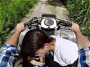 super-naughty tiny breezy rails a cock in the middle of nowhere