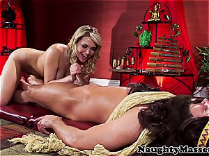 ultra-cute lithe chick torn up by the yoga schoolteacher