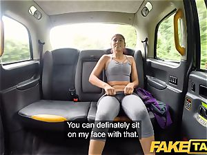 fake taxi Sahara gets a firm manmeat exercise