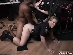 first-timer milf glasses wet vid takes hold of cop ravaging a deadbeat father.