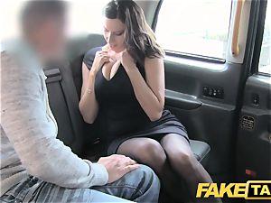 fake cab super hot busty honey gets immense cum shot