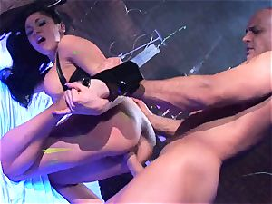 Audrey Bitoni gets her sizzling cootchie crammed with manhood