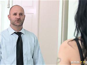 cuckold wifey Katrina Jade penetrates dark-hued spear