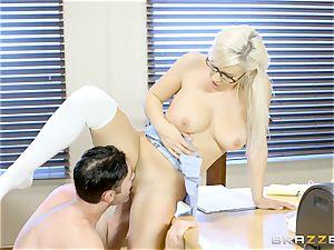 nasty schoolgirl Kylie Page romps her instructor