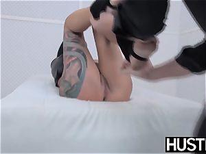 punk cougar Lola sugary slit ravaged with man sausage and fucktoys