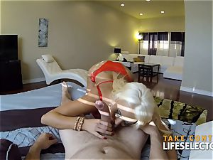 point of view afternoon with huge-chested sweetheart Summer Brielle