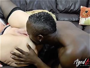 AgedLovE Lacey Starr interracial hardcore anal invasion