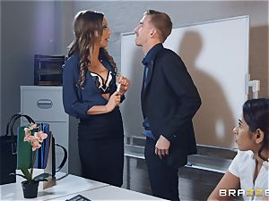 Tina Kay getting smashed by a immense manmeat