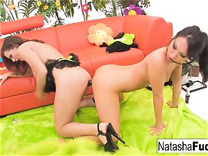 Natasha's 1st assfuck with Asa