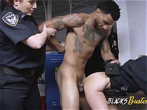 lean thug destroys pervy cougar cops punani rock hard